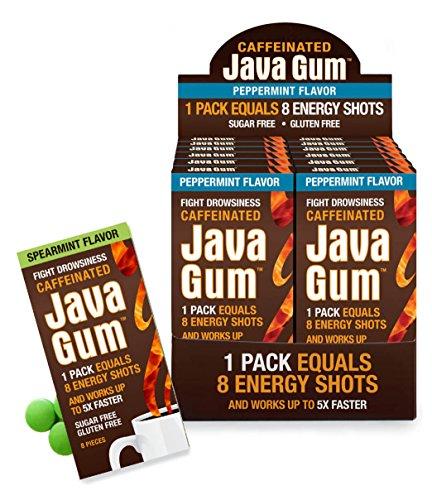Java Gum - Caffeinated Energy Gum - Buy Online in UAE