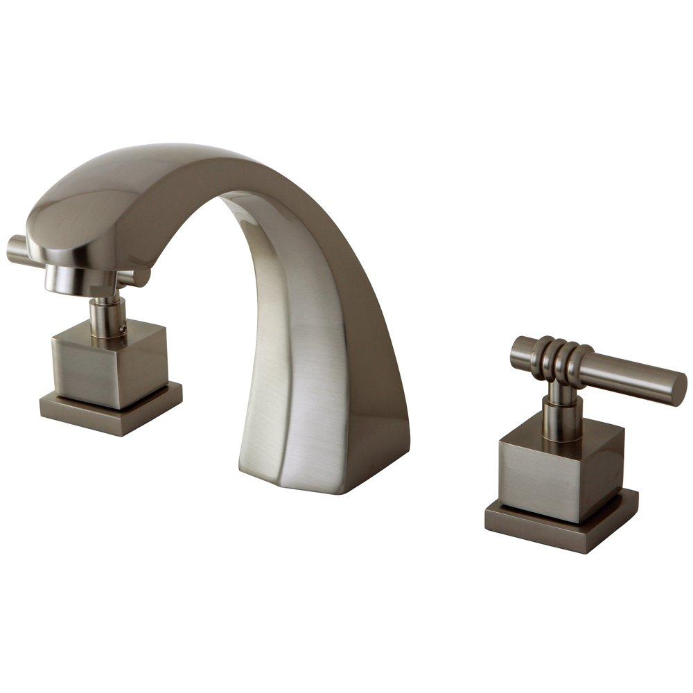キングストン真鍮KS4368QL二つは、ローマの浴槽フィラーハンドル B0042G3TXI
