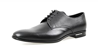 Men's 2EC030 053 F0002 Saffiano Leather Business Shoes