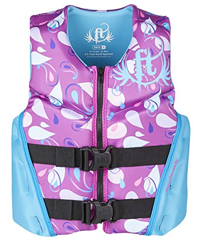 Full Throttle Youth Rapid Dry Flex-Back Life Jacket, ()