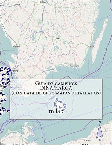 Guia de campings DINAMARCA con data de gps y mapas detallados ...