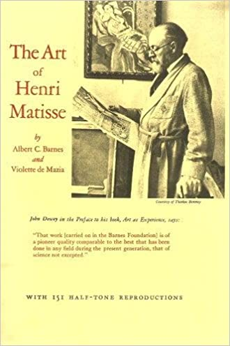 The Art of Henri Matisse with 151 Half-Tone Reproductions