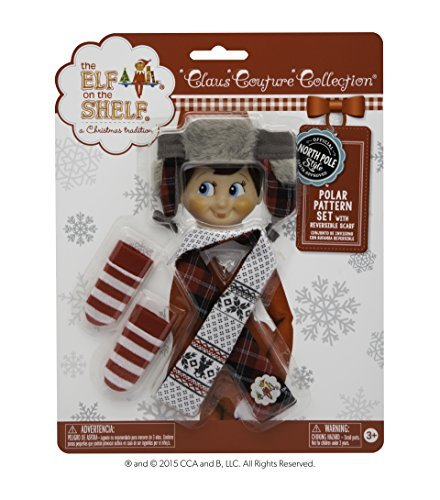 - Elf on the Shelf Polar Pattern Set