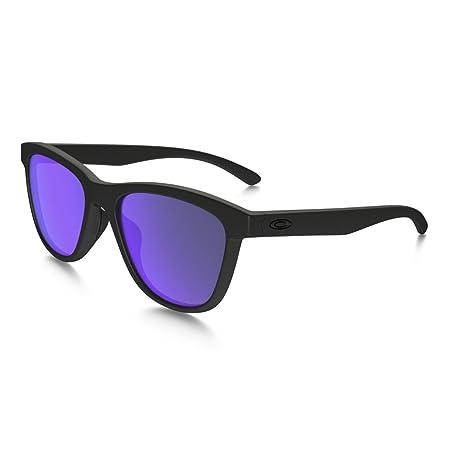Oakley Sonnenbrille Moonlighter, Gafas de Sol para Mujer, Matte Black, 53
