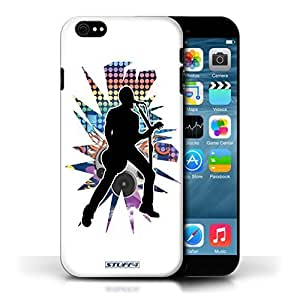 KOBALT? Protective Hard Back Phone Case / Cover for Samsung Galaxy Note2 N7100/N7102 | Singer White Design | Rock Star Pose Collection