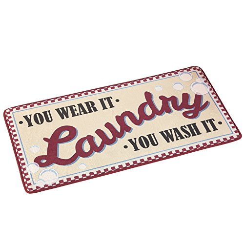 Laundry Novelty Vintage Inspired Skid Resistant