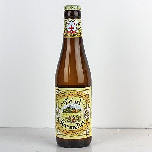 BRASSERIE BOSTEELS Karmeliet Tripel Biere Blonde - 33 cl - 8,4 %: Amazon.es: Alimentación y bebidas