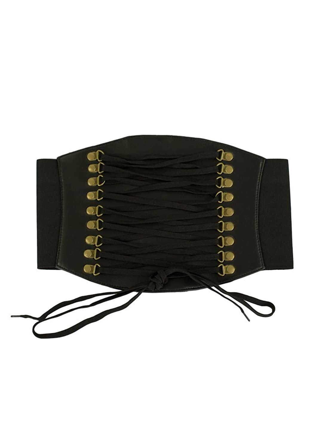 A History of Belts 1920-1960 Orchard Corset Faux Leather Corset Belt CB-915 $24.99 AT vintagedancer.com