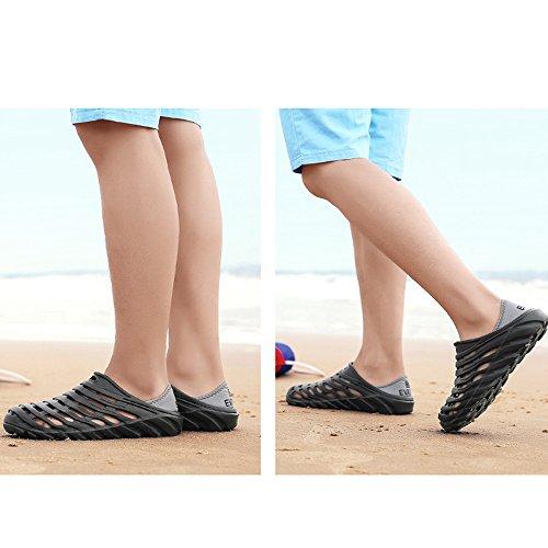 acqua comode spiaggia da Sandali Scarpe Black casual Scarpe da uomo da da giardino A0qXwq