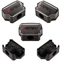T-SPEC V12DB-1144 1/0-Gauge In/Four 4/8-Gauge Out Compact Block Distribution