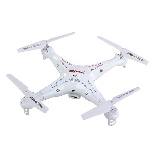 Syma X5 C Exploradores 2,4 G 4 CH RC Quadcopter con HD cámara Gyro ...