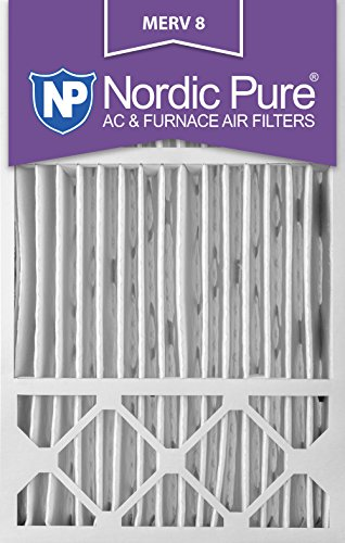 16x25x5 Honeywell Replacement MERV 8 Air Filters Qty 1 16x25x5HM8-1