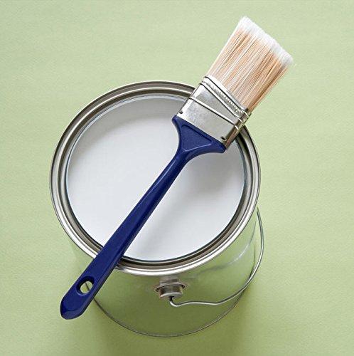 10L Latexfarbe Abwaschbar Überstreichbar Weiß Wandfarbe Deckenfarbe für Innen und Außen Küchenfarben Badfarben Farbanstrich Wandbeschichtung