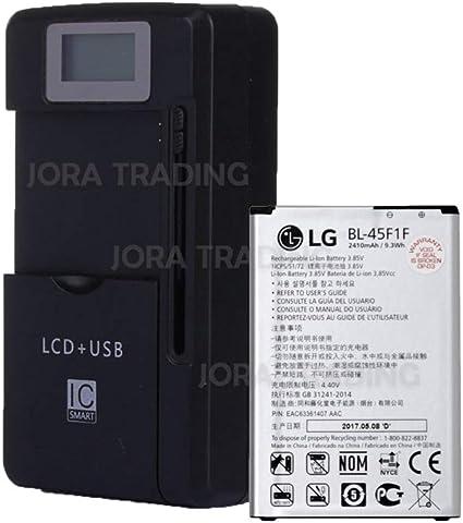 New Original BL-45F1F 2410mAh Battery for LG LV3 Aristo MS210 Metro PCS /& T-Mobile