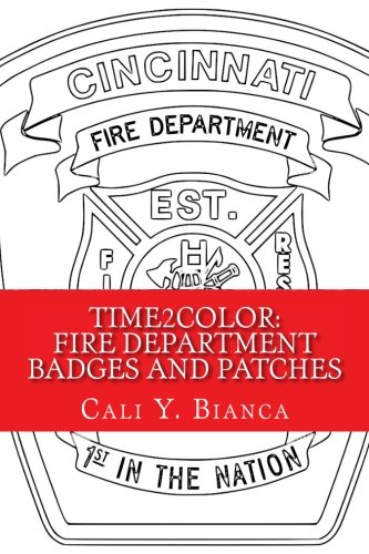 Time2Color: Fire Department Badges and Patches: A PTSD Therapeutic Coloring Book (Time2Color Adult Coloring Book Series) (Volume 14) - 51 s2HlGcwL - 14: Time2Color: Fire Department Badges and Patches: A PTSD Therapeutic Coloring Book (Time2Color Adult Coloring Book Series) (Volume 14)
