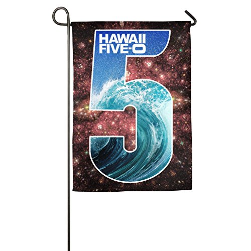 NEW! Decorative Welcome Colorful Outdoor Hawaii Five-0 5 -Home Flag/House Flag/Garden Flag (Hawaii Five 0 Halloween Episode)