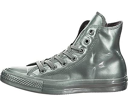 Converse - Converse All Star Metallic Rubber Hi Scarpe Sportive Donna  Metallic Glacier - Green 88a0b6032f6