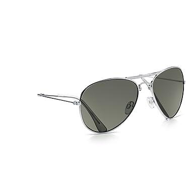 Sunglass Junkie Lunettes de Soleil Top Gun Aviator unisexes couleur or KAl5Cjv