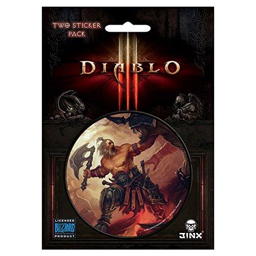 JINX Diablo III Barbarian Class Sticker (Multi-Color, 3