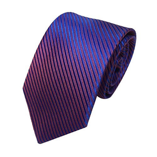 Liraly Clearance Mens Classic Jacquard Woven Striped Necktie Men's Tie Party Wedding Tie (Multicolor)