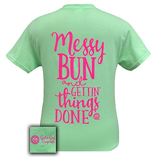 girlie-girl-originals-messy-bun-and-getting-things-done-t-shirt-mint-green-large