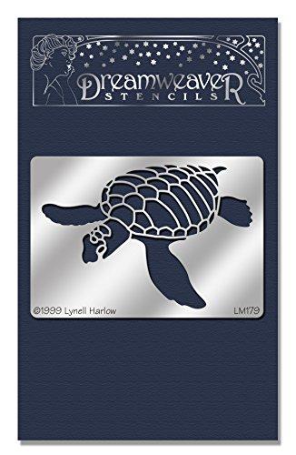 Stampendous Dreamweaver Stencil, Sea (Turtle Stencil)