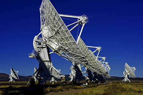 Very Large Array Radio Telescopes in New Mexico Fine Art Photo Print, Color Photograph Available in Four Sizes Image is Perfect for Home Decoration, Wall Art, Wall Décor Very Large Array Telescope