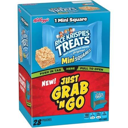 spies Treats Crispy Marshmallow Mini Squares 28 Ct - 2 Pack ()