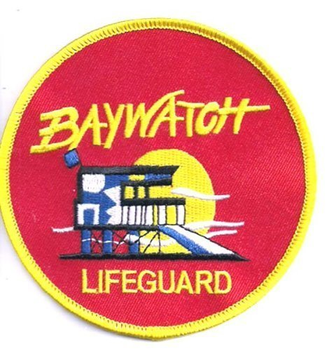 """Baywatch tv show shoulder patch 3. 5"""" patch scifi geeks."""
