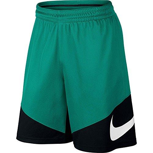 Nike Shoosh - Pantalón corto para hombre Azul (Rio Teal / Black / Black / White)