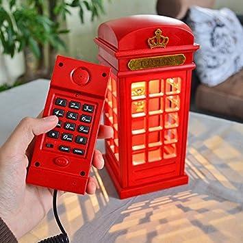 Lampe Cabine Led Téléphone Chevet Téléphonique De Table À Et N8nm0w