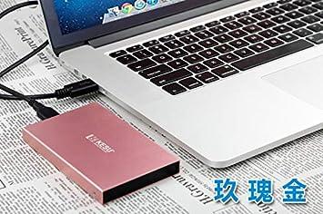 Ocamo Almacenamiento en Disco Duro Externo portátil portátil USB3.0 HDD 500G / 1T /