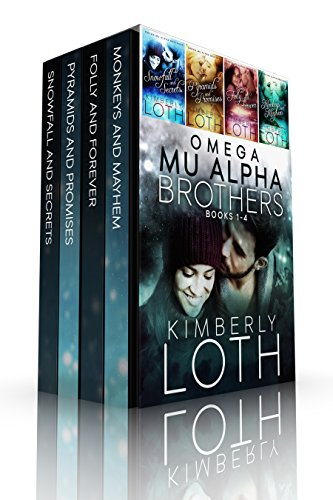 Omega Mu Alpha Box Set-Books 1-4: Snowfall and Secrets, Pyramids and Promises, Folly and Forever, Monkeys and Mayhem