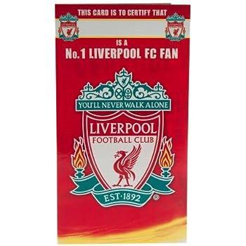 Amazon Liverpool Fc Birthday Card Birthday Greeting Cards