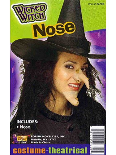 Witch Nose Costume Accessory For Adults -