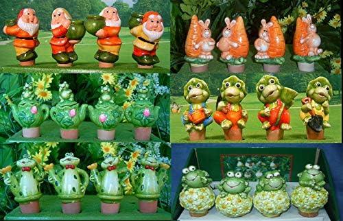 flowerpowerfarm.ch 8 Wasserspender - Figuren für Zimmerpflanzen unserer Wahl