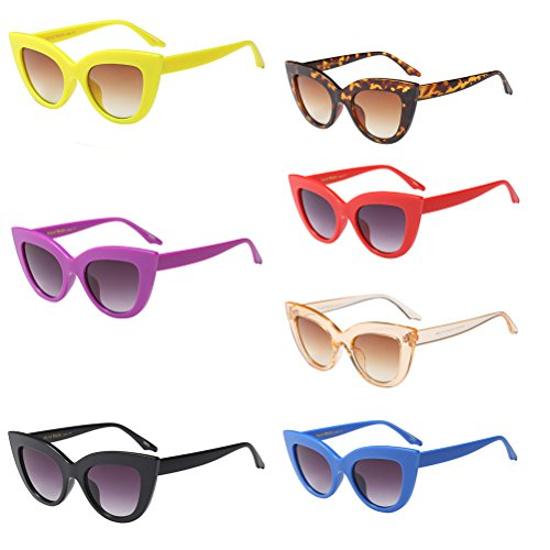 Sol Classic Unisex Style4 para Mujer Sunglasses Eyewear UV Gafas de Sunshine Protección Red Zhhlaixing Hombres wFd0wq