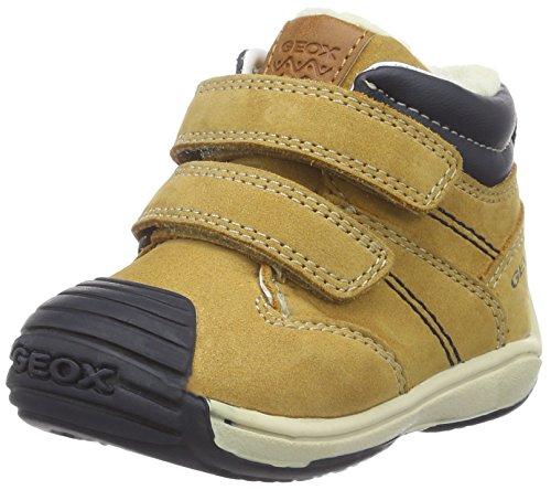 Geox Baby Jungen B Toledo Boy C Lauflernschuhe, Gelb (Biscuit/NAVYC5BF4), 25 EU