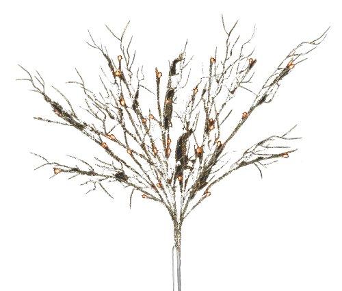 Hi-Line Gift Ltd  37386-40 40 Liter Floral Lights Coral B...