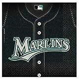 Florida Marlins Baseball - Luncheon Napkins Party Accessory