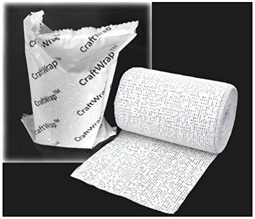 (PLASTER of Paris Cloth BANDAGE ROLL Casting Craft Tape - Create Belly Cast Kit)