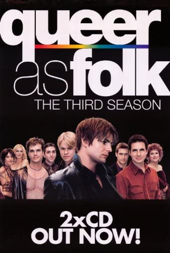 Queer As Folk Poster (11 x 17 Inches - 28cm x 44cm) (2000) Style C ...
