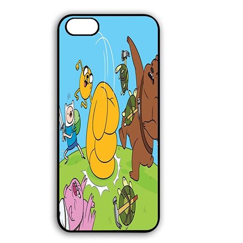 Coque,Adventure Time Anime Design Phone Shell Case Covers for Coque iphone 7 4.7 pouce 4.7 pouce Back Casing With Best Plastic - Cool Coque iphone 7 4.7 pouce Phone Case Cover for Boys