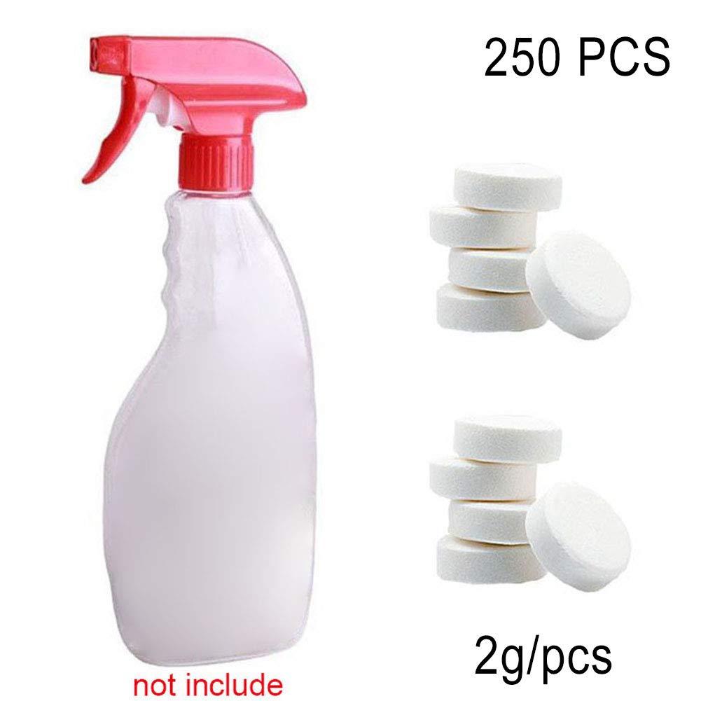 lzndeal Pastille pulizia profondità del Spa Cloro lave-glace auto detergente multifunzione di compresse di cloro per piscine di 2G la pulizia a casa di Spa, 50pcs