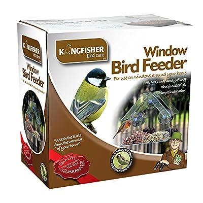 Mangeoire de fenêtre pour oiseaux King Fisher