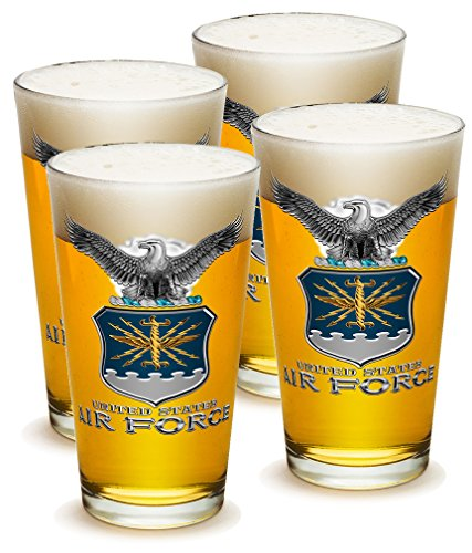 United States Air Force Honor Guard (SET OF 4 United States Air Force MCMXLVII 16 Ounce Pint Pub)