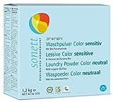 Sonett Organic Sensitive Powdered Laundry Detergent for Colors 42oz / 1.2kg