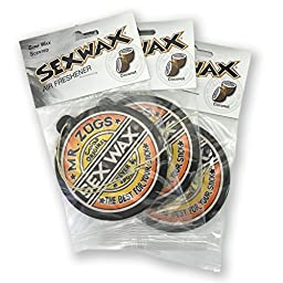 Sex Wax Air Freshener (3-Pack, Coconut)