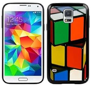 Rubik's Cube Handmade Samsung Galaxy S5 Black Case by supermalls