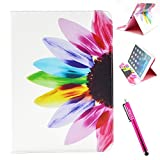 iPad Air Case, Firefish [Bumper] [Kickstand] Anti-Slip Slim PU Leather Wallet with TPU Double Protection Flap Cover for Apple iPad Air - Maggey